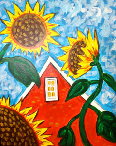 Country Sunflowers