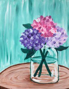 Hydrangeas (Turquoise)