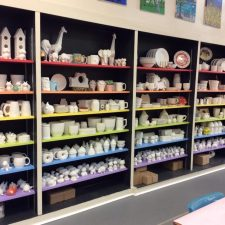 Pottery waiting to be painted!