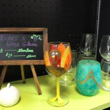 Paint a wineglass!
